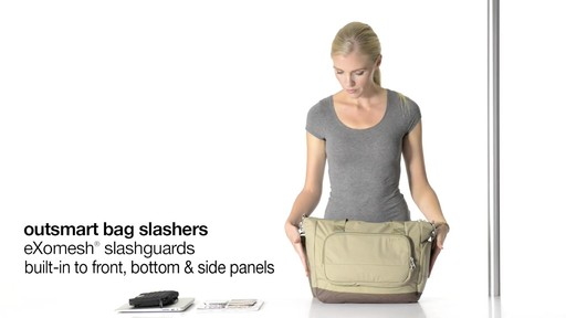 Pacsafe Citysafe LS400 - on eBags.com - image 1 from the video