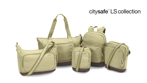 Pacsafe Citysafe LS400 - on eBags.com - image 9 from the video