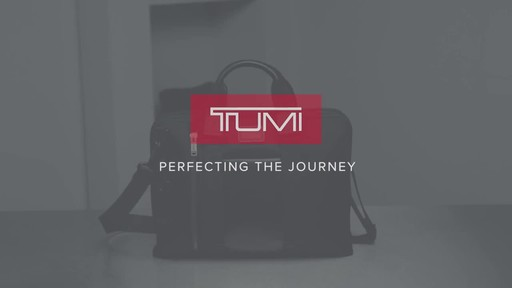 Tumi Alpha Bravo Aviano Slim Brief - image 10 from the video
