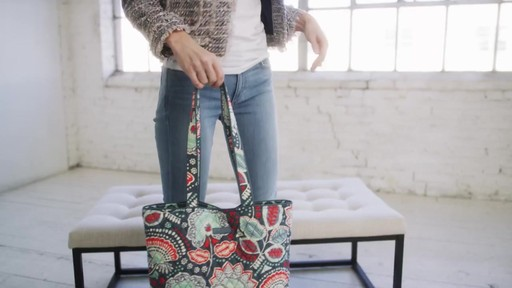 Vera Bradley Tote 2.0 - image 1 from the video