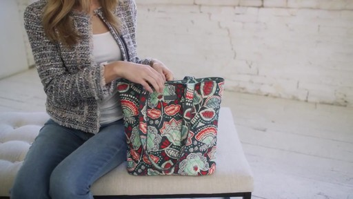 Vera Bradley Tote 2.0 - image 2 from the video