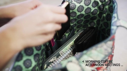 Vera Bradley Tote 2.0 - image 3 from the video