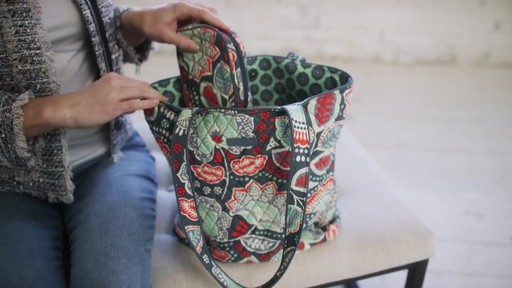 Vera Bradley Tote 2.0 - image 5 from the video