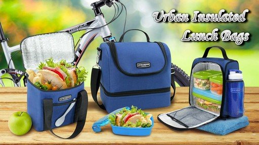 Jacki Design Urban Insulated Lunch bags - on eBags.com - image 1 from the video