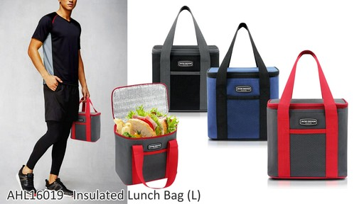 Jacki Design Urban Insulated Lunch bags - on eBags.com - image 10 from the video