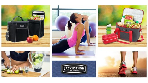 Jacki Design Urban Insulated Lunch bags - on eBags.com - image 2 from the video