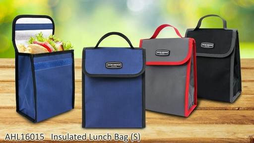 Jacki Design Urban Insulated Lunch bags - on eBags.com - image 3 from the video