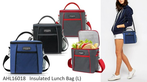 Jacki Design Urban Insulated Lunch bags - on eBags.com - image 5 from the video