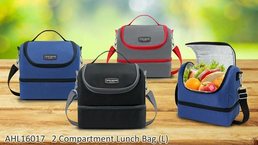 Jacki Design Urban Insulated Lunch bags - on eBags.com - image 6 from the video