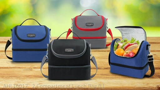 Jacki Design Urban Insulated Lunch bags - on eBags.com - image 7 from the video