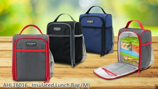 Jacki Design Urban Insulated Lunch bags - on eBags.com - image 8 from the video