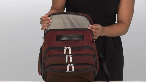Briggs & Riley Transcend VX Cargo Laptop Backpack - image 10 from the video