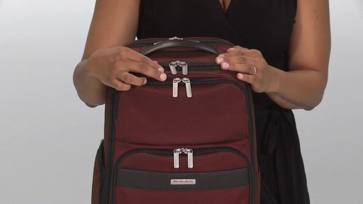 Briggs & Riley Transcend VX Cargo Laptop Backpack - image 3 from the video