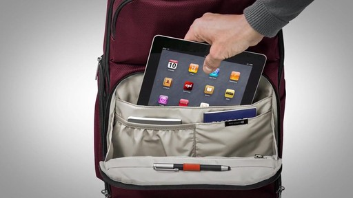 Briggs & Riley Transcend VX Cargo Laptop Backpack - image 7 from the video