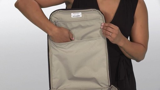 Briggs & Riley Transcend VX Cargo Laptop Backpack - image 9 from the video