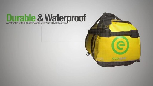 ecogear Granite Duffle - image 1 from the video
