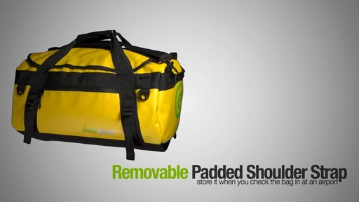 ecogear Granite Duffle - image 4 from the video