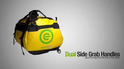 ecogear Granite Duffle - image 6 from the video