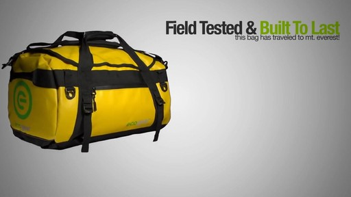 ecogear Granite Duffle - image 7 from the video