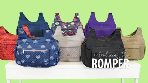 Lug Romper Shoulder Bag - image 1 from the video