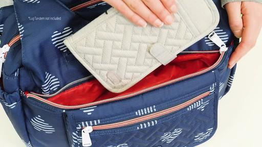 Lug Romper Shoulder Bag - image 2 from the video
