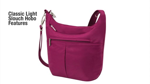 Travelon Anti-Theft Classic Light Slouch Hobo - eBags.com - image 2 from the video