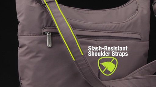 Travelon Anti-Theft Classic Light Slouch Hobo - eBags.com - image 6 from the video