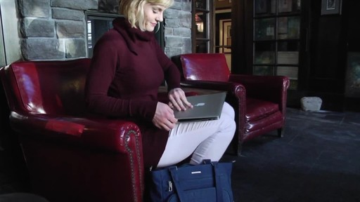 Travelon Anti-Theft Quilted Tote - Exclusive - image 9 from the video