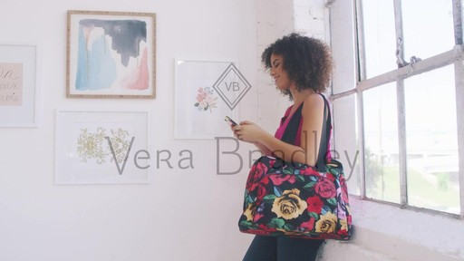 Vera Bradley Lighten Up Go Anywhere Carry-On - on eBags.com - image 10 from the video