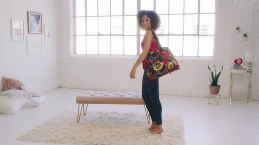 Vera Bradley Lighten Up Go Anywhere Carry-On - on eBags.com - image 2 from the video