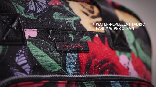 Vera Bradley Lighten Up Go Anywhere Carry-On - on eBags.com - image 3 from the video