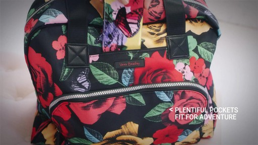 Vera Bradley Lighten Up Go Anywhere Carry-On - on eBags.com - image 4 from the video