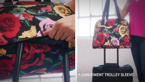 Vera Bradley Lighten Up Go Anywhere Carry-On - on eBags.com - image 5 from the video
