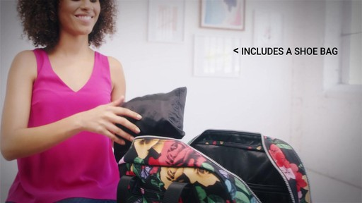 Vera Bradley Lighten Up Go Anywhere Carry-On - on eBags.com - image 7 from the video