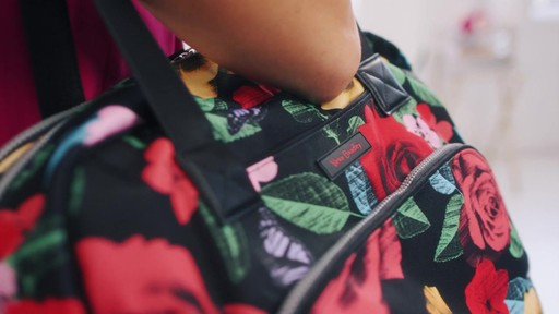 Vera Bradley Lighten Up Go Anywhere Carry-On - on eBags.com - image 9 from the video