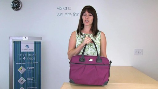 Eagle Creek Audine Laptop Brief Rundown - image 1 from the video