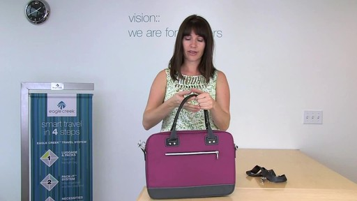 Eagle Creek Audine Laptop Brief Rundown - image 8 from the video