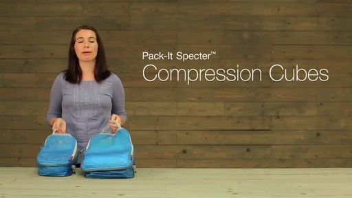 Eagle Creek Pack-It Specter Tech Compression Cube Set S/M - image 1 from the video