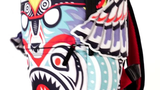 Sprayground Lil Apache Wings Backpack - Shop eBags.com - image 8 from the video