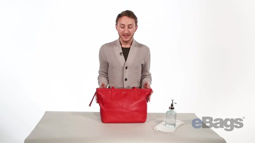 How To Clean Your Leather Handbag - image 1 from the video