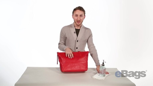 How To Clean Your Leather Handbag - image 6 from the video