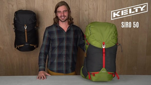 Kelty Siro 50 Hiking Backpack - image 1 from the video