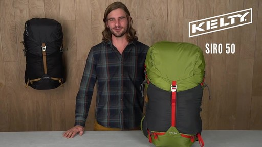Kelty Siro 50 Hiking Backpack - image 10 from the video