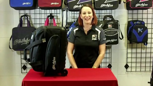 KR Strikeforce Bowling Eliminator Double Roller Bag - eBags.com - image 2 from the video