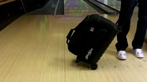 KR Strikeforce Bowling Eliminator Double Roller Bag - eBags.com - image 3 from the video