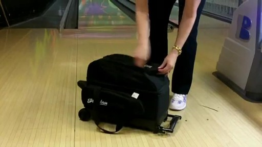 KR Strikeforce Bowling Eliminator Double Roller Bag - eBags.com - image 7 from the video