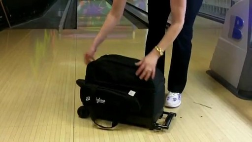 KR Strikeforce Bowling Eliminator Double Roller Bag - eBags.com - image 8 from the video
