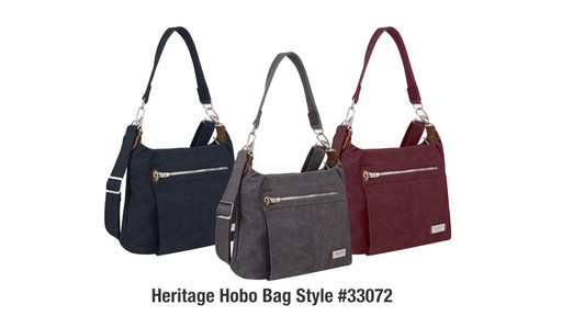 Travelon Anti-Theft Heritage Hobo Bag - eBags.com - image 10 from the video