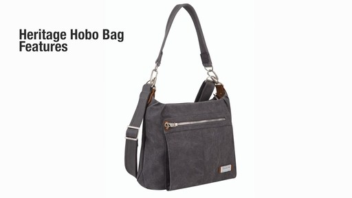 Travelon Anti-Theft Heritage Hobo Bag - eBags.com - image 2 from the video