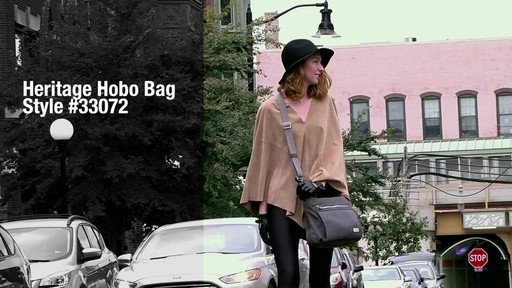 Travelon Anti-Theft Heritage Hobo Bag - eBags.com - image 9 from the video